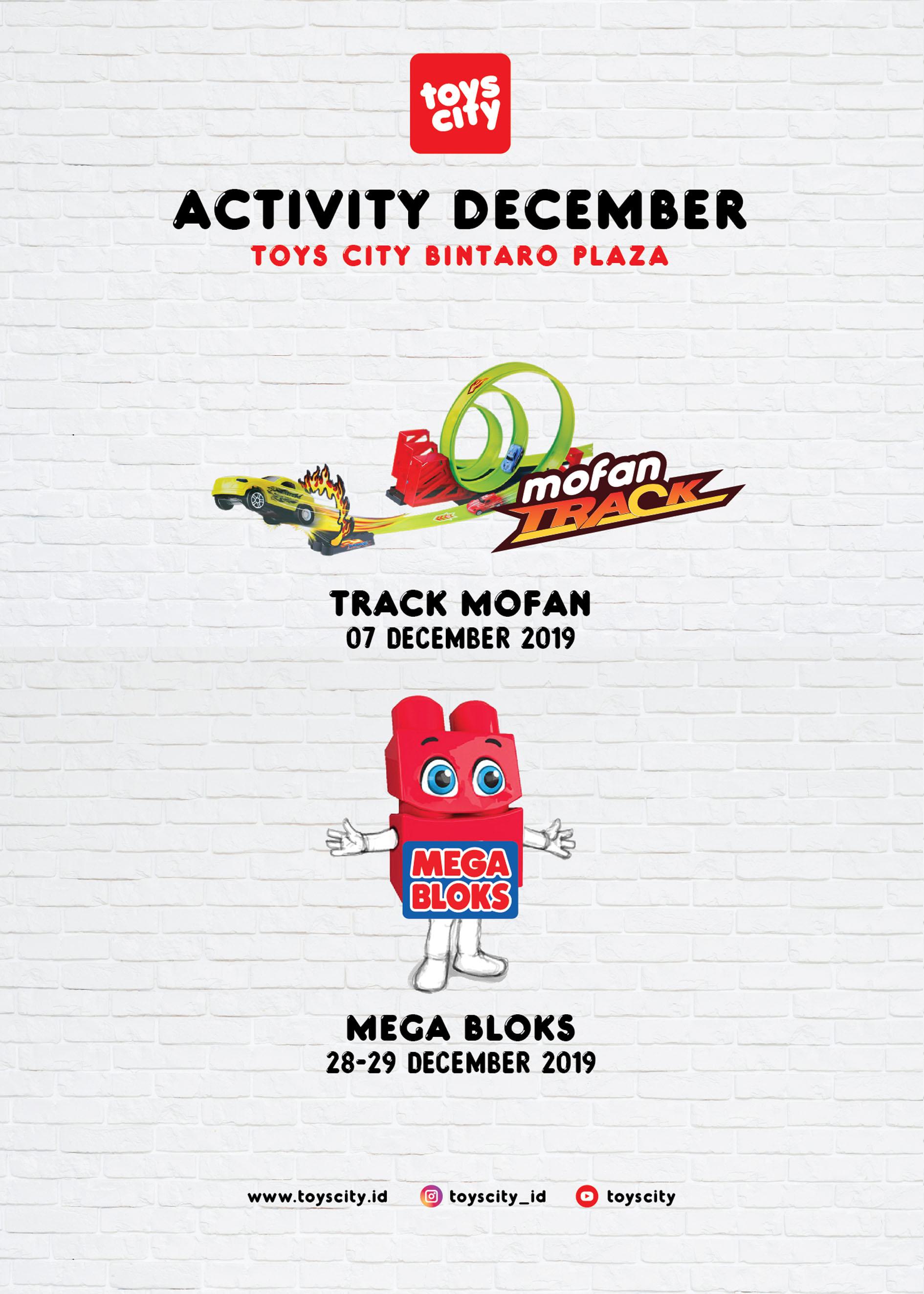Tosycity Bintaro Plaza Mall December 2019 Activity