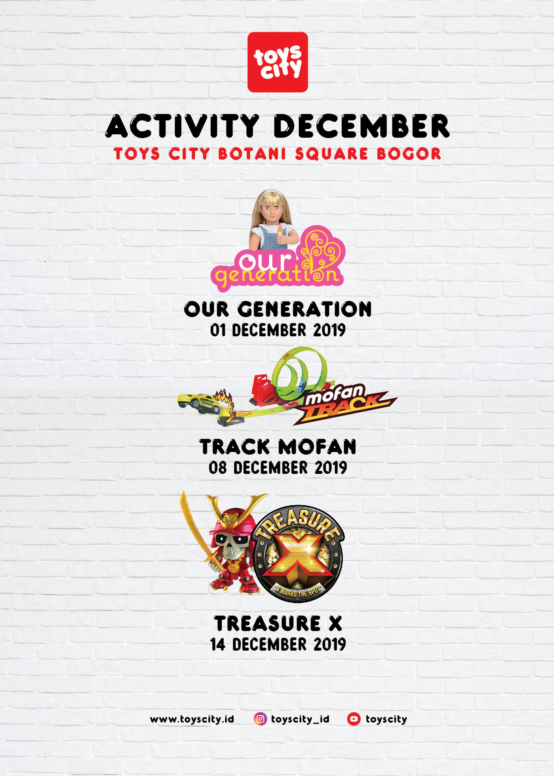 Tosycity Botani Square Bogor Mall December 2019 Activity