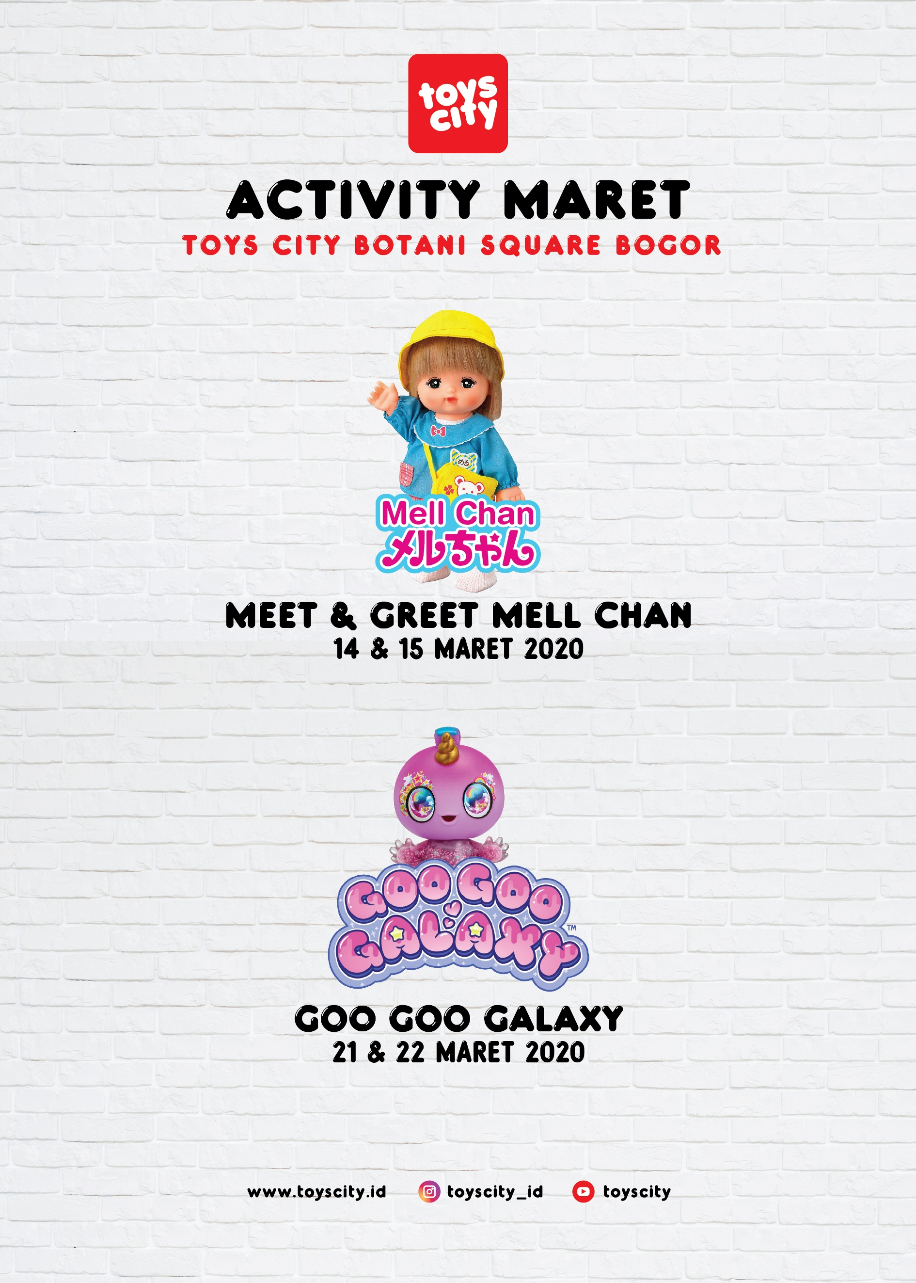 BOTANI SQUARE MALL March Activities